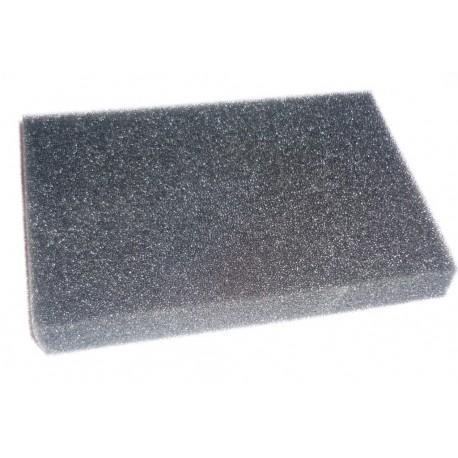 Bloc mousse fine filtre à air à découper