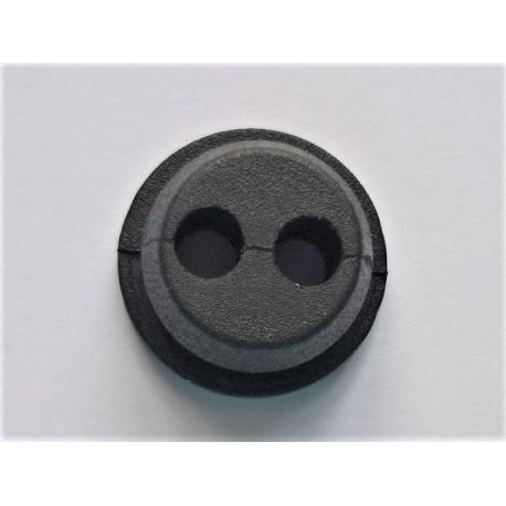 Passe durite pour MC CULLOCH 2 trous diam 15mm