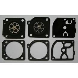 C/·T/·S Kit Joint de carburateur et diaphragme remplace Zama GND-27 pour carburateur Zama C1Q Homelite HBC38 40 XL Super2 MC Culloch 735 Oleomac 935 PoulanSuper 25 P600